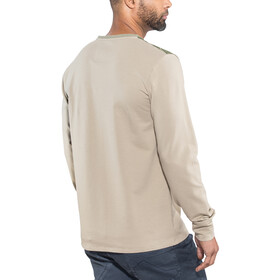 E9 Stripe On longsleeve Heren beige
